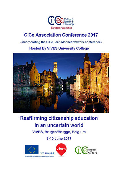 CiCe Association Conference Programme Brugge 2016 Cover